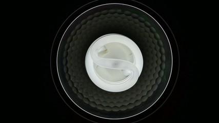 Luminaire with fluorescent lamp (energy saving lamp)