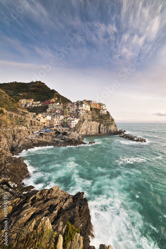 Seascape in Manarola ( 5 Terre )