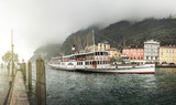 Paddle steamer at Riva del Garda, Italy