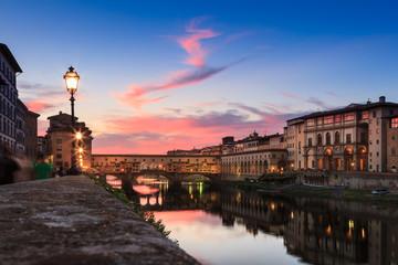 Firenze al tramonto