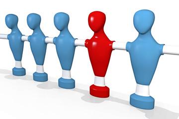 Verbindung, Struktur, Zusammenarbeit