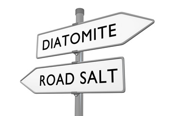 DIATOMITE vs ROAD SALT
