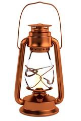 realistic 3d render of lantern