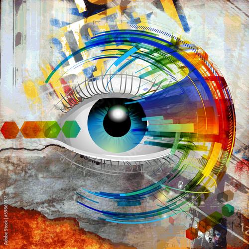 Zdjęcia na płótnie, fototapety na wymiar, obrazy na ścianę : зрение
