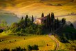 Tuscany, countryhouse