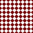 Dark Red and White Diagonal Checkers on Textured Fabric Backgrou