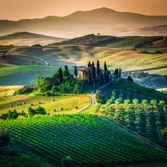 fototapeta kraina Toskanii
