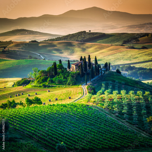 Tuscan country - 59862753