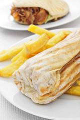 durum and doner kebab