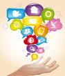 Social Network, Mani