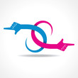 creative hand icon vector concept vector