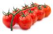 Ripe cherry tomatoes.