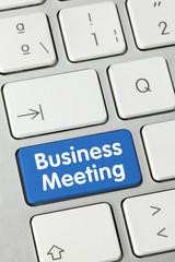 Business Meeting. Keyboard