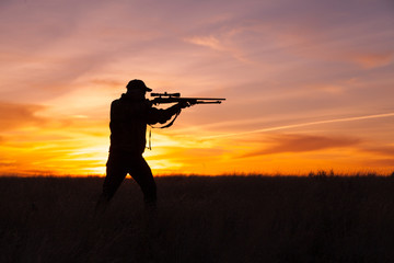 Shooting at Sunset