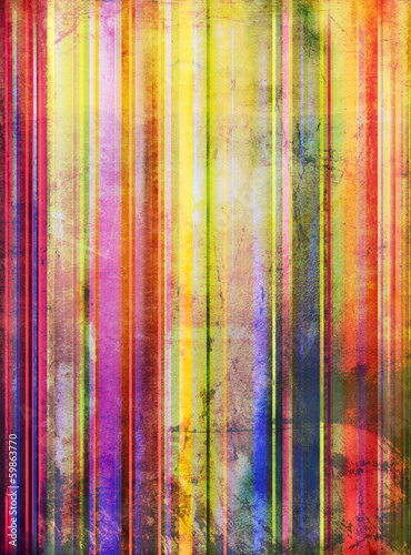canvas print picture aquarell abstrakt alt streifen