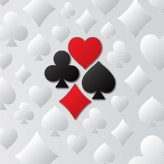 Playing card suit