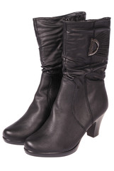 Women's boots (Clipping path)