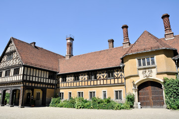 Cecilienhof palace, where the Potsdam Conference took place