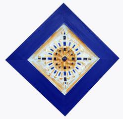 Beautiful framed mandala