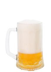 mug of beer isolated