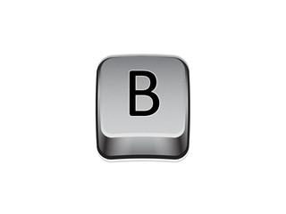 Tasto B tastiera computer