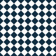 Navy Blue and White Diagonal Checkers on Textured Fabric Backgro