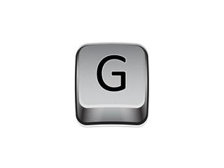 Tasto G tastiera computer
