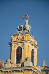 Top tower of the National Theater, Cluj-Napoca
