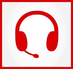 headphone symbol vector