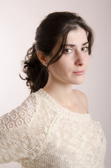 Woman casual portrait.
