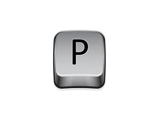 Tasto P tastiera computer