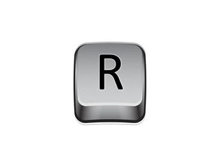 Tasto R tastiera computer