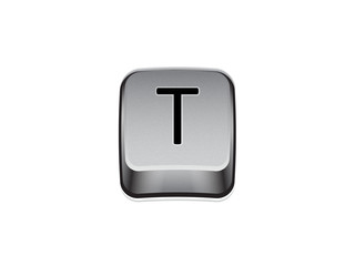 Tasto T tastiera computer
