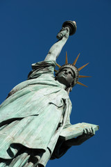 Statue of Liberty at Odaiba in Tokyo