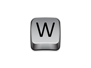 Tasto W tastiera computer