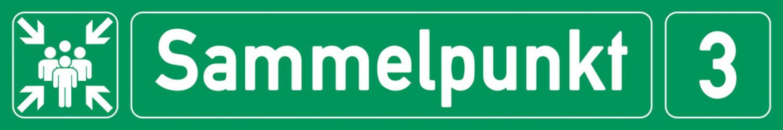 German Banner G318 - sammelpunkt - nummer 3
