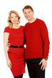 couple in red