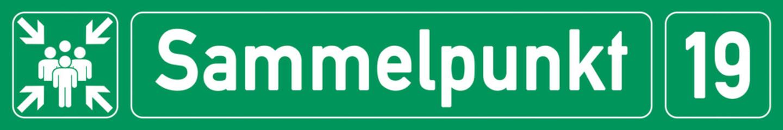 German Banner G334 - sammelpunkt - nummer 19