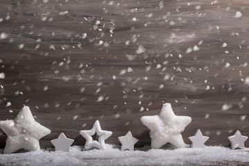 Winter Schnee Hintergrund Holz