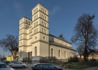 Historic Greek wooden church in Lidzbark Warminski