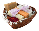 Four natural soap