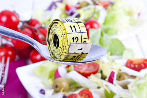 Tape bottom food vegetable healthy diet