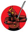 samurai warrior mascot