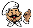 smiling chef face - 59880530