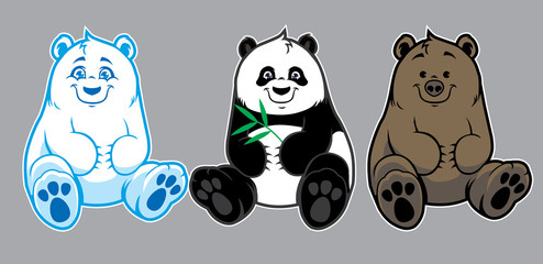 cute baby bears collection