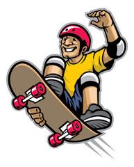skater doing skateboard trick
