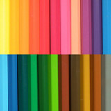 Wax crayon background