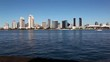 San Diego, California from Coronado