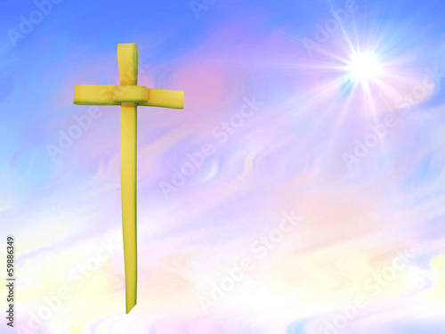 Palm Sunday or Easter background