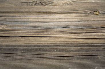 Dark wood boards pattern blurred